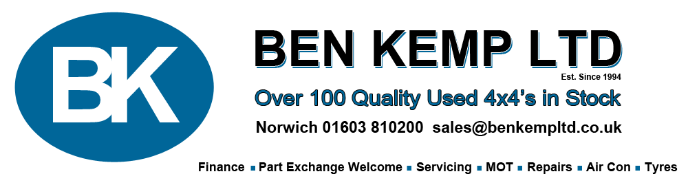 Servicing & MOT - Ben Kemp Ltd